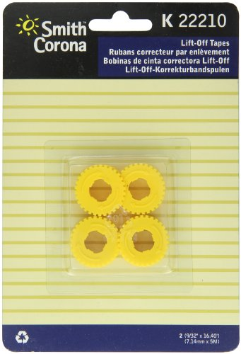 Smith Corona K22210 Lift-Off Correcting Tape Spools, Pack of 2 (Smith Circuit)