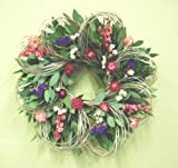"19"" Larkspur and Loops Wreath"