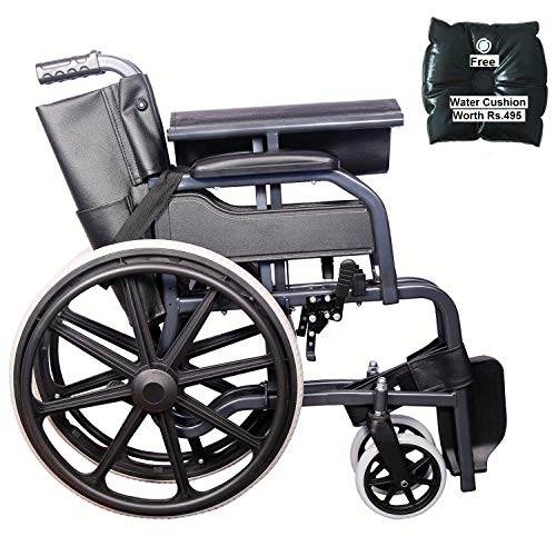 KHL Wheelchair with Mag Wheels and Seat Belt (Diamond Black)