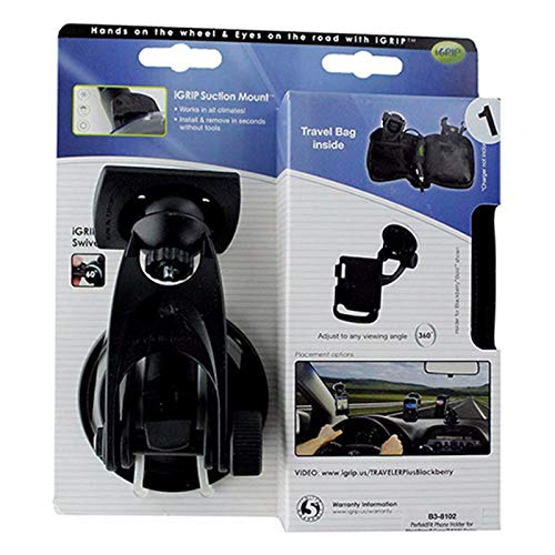 - iGrip Smartphone Suction Mount for BlackBerry Curve 8300 Series - Black