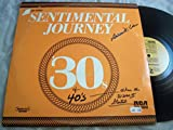 Sentimental Journey 30s & 40s LP - RCA Victor - PRS-356