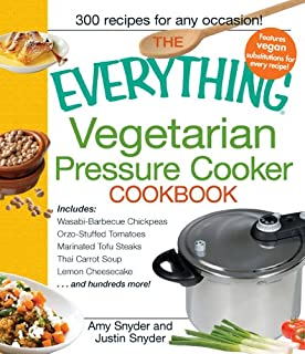The Everything Vegetarian Pressure Cooker Cookbook (Everything (Cooking)) (B0055X6NLW) | Amazon price tracker / tracking, Amazon price history charts, Amazon price watches, Amazon price drop alerts