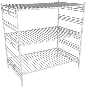 Grayline Large Adjustable Upper Cabinet Helper Shelf