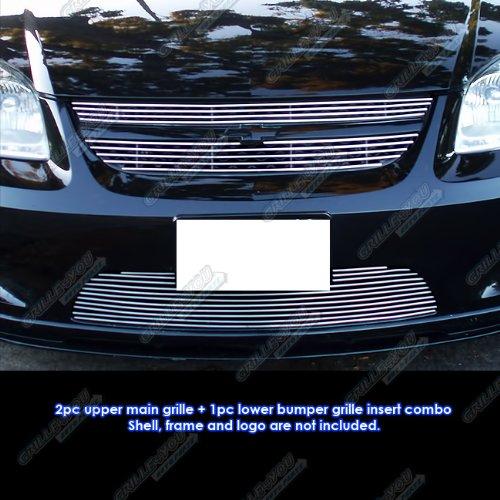 APS Fits 05-10 Chevy Cobalt SS/Sport Billet Grille Combo #C67831A