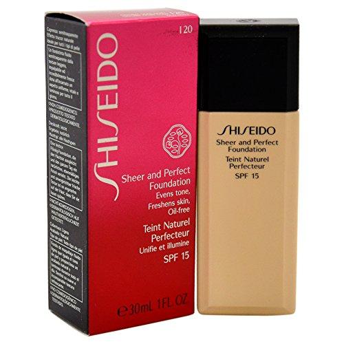 Shiseido Sheer and Perfect SPF 15 # I20 Natural Light Ivory...