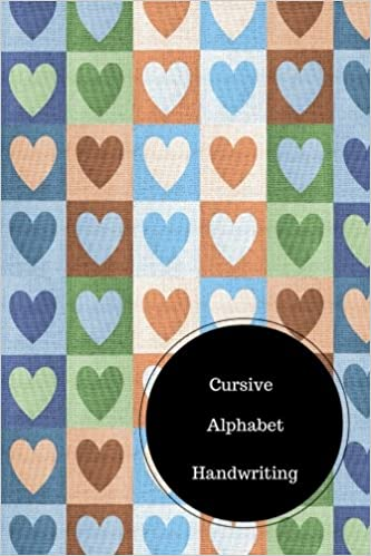 Cursive Alphabet Book: Cursive Handwriting Worksheets For Kids ...