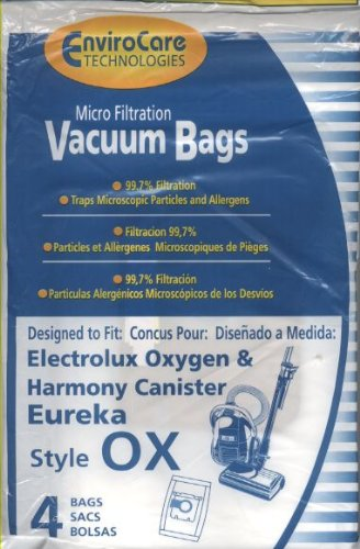 Amazon.com - Electrolux, OX Vacuum Bags, 4 Pk. Fits 61320 ...