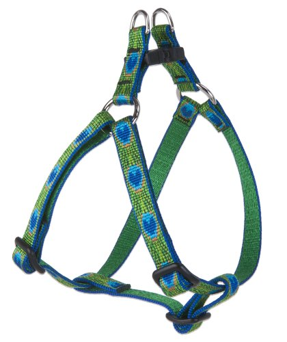 Lupine 1/2-Inch Tail Feathers 12 to 18-Inch Step In Harness for Small Dogs, My Pet Supplies