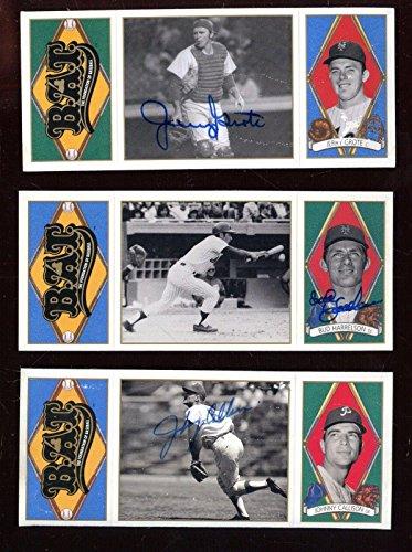 1993 Upper Deck BAT Baseball Card Lot 6 Different All Autographed Holograms - Baseball Slabbed Autographed Cards - 1993 Upper Deck Bat
