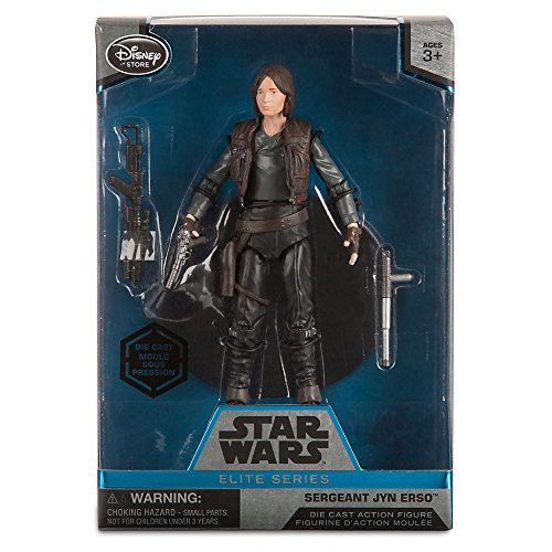 Star Wars Sergeant Jyn Erso Elite Series Die Cast Action Figure - 6 Inch - Rogue One: A Star Wars Story