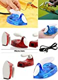 Emndr New Micro Mini Travel Compact Portable Electrical Clothes Ironing Press Iron