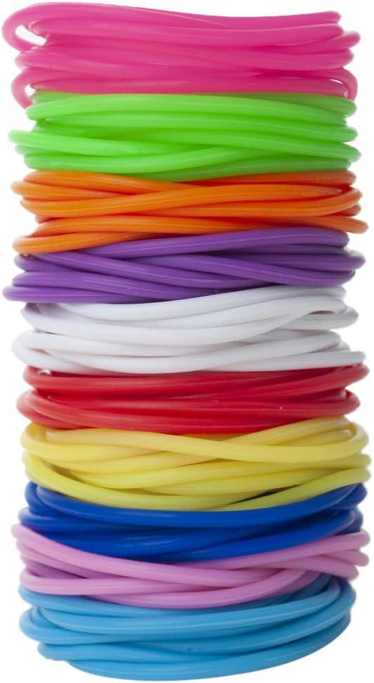 HOPE Awareness Wristband Bracelet Glow in the Dark,pink,black,blue,orange,yellow