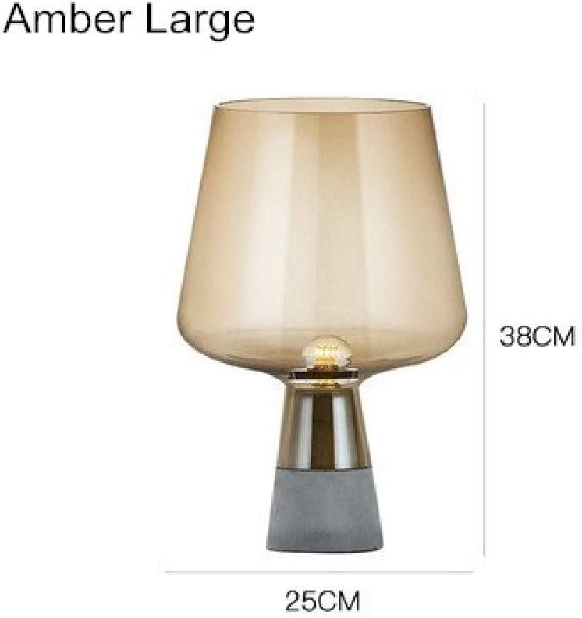 YQHWLKJ Modern Glass Table Lamp Bedroom