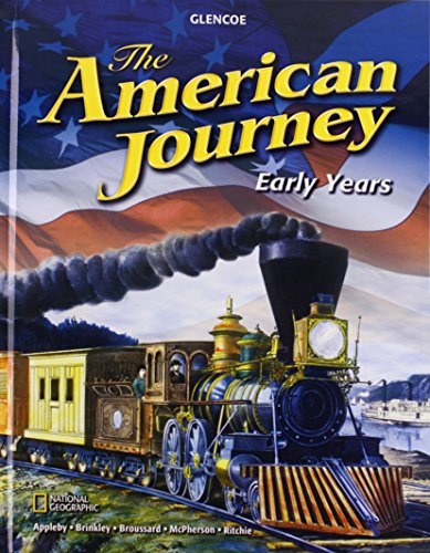 The American Journey: Early Years, Student Edition (THE AMERICAN JOURNEY (SURVEY))
