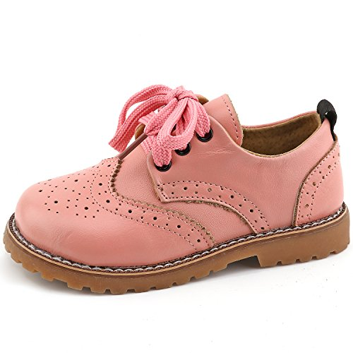 CCTWINS KIDS Toddler Little Kid Girl Boy Dress Oxford Leather -