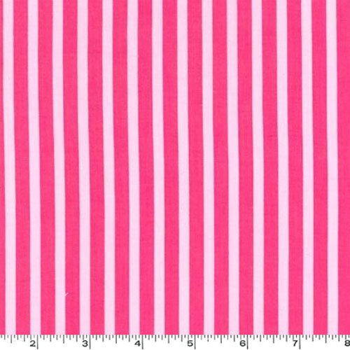Clown Stripe Pink Girl Fabric Two Yards (1.8m) CX3584-GIRL-D