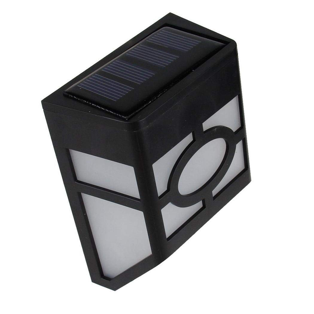 Comfi1 Solar Powered Wall Mount LED Light Outdoor Solar Wall Light Wall Lamps & Sconces