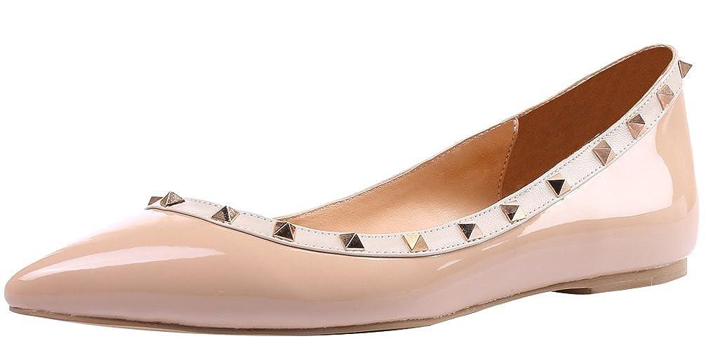 AOOAR Schuhe Damen Schuhe AOOAR Mit Nieten Ballerinas 52f50a