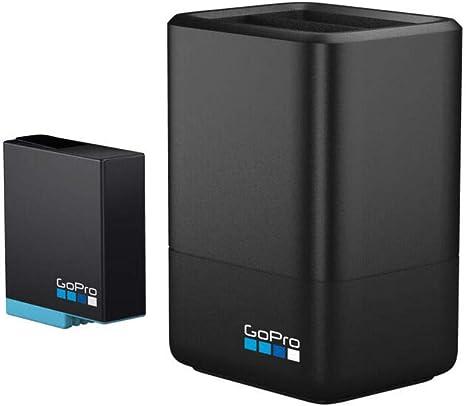 Chargeur de Batterie Double avec Batterie (HERO8 Black HERO7 Black HERO6 Black) Accessoire Officiel GoPro