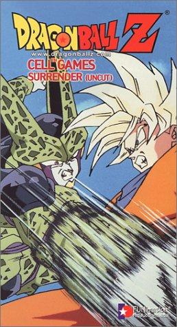 Dragon Ball Z - Cell Games - Surrender (Uncut) [VHS]