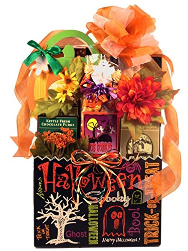Halloween Gift Basket for Men, Women and Kids - Size Large