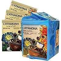 Catamona Dark espresso instant coffee , 10 Sachets