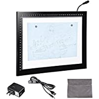 Yescom 14 A4 Artist LED Drawing Board USB Power Tracing Table Stencil Tattoo Display Light Box Sketching Animation