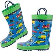 Stephen Joseph Kids Rain Boots Winter Accessory Set