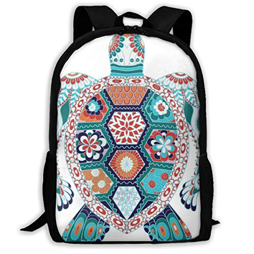 OWZI Turtle Adult Full-Length Printed Backpack 6.3