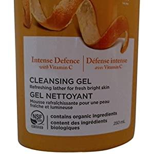 Avalon Organics Intense Defense Cleansing Gel, 8.5 Fluid Ounce