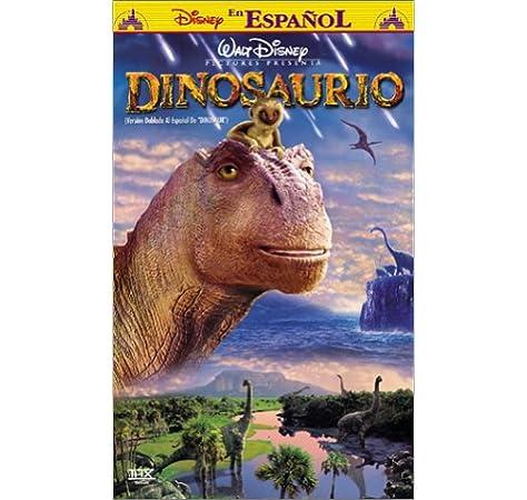 Amazon Com Dinosaurio Dinosaur Spanish Dubbed Edition Vhs Dinosaur Movies Tv