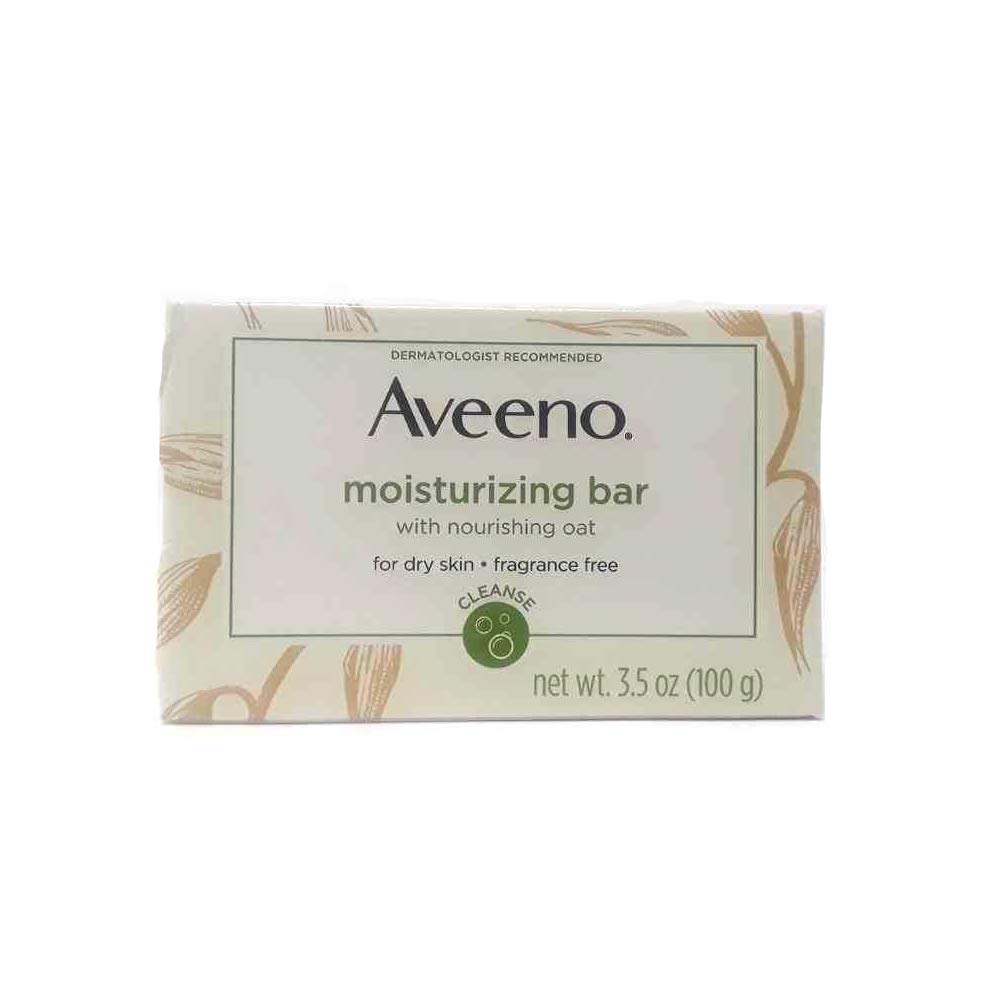 AVEENO Naturals Moisturizing Bar for Dry Skin 3.50 oz Pack of 8