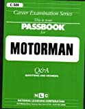 This Is Your Passbook for... Motorman, Jack Rudman, 0837305098