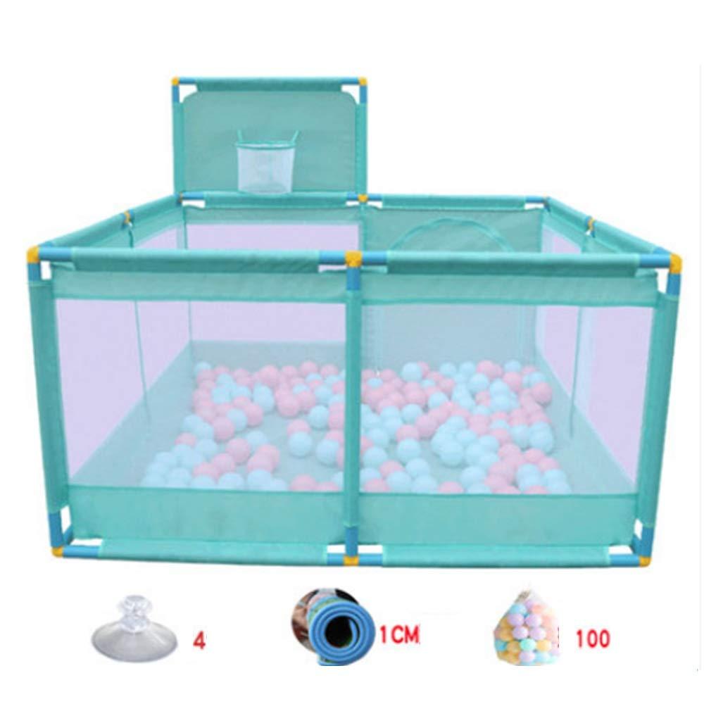 XIAOMEI,安全フェンス 赤ちゃん再生フェンス屋内赤ちゃんクロールマット幼児フェンスフェンス - ブルー8Models ベッドの手すり (サイズ さいず : B2) B2  B07KWZKS2S