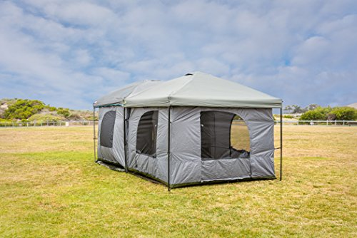 Standing Room Family Cabin Tent 8 5 Feet Of Head Room 2 Or 4 Big Screen Doors Fast Easy Set Up Full Waterproof Fabric Ceiling Not Cheap Leaky