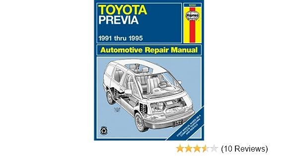 Toyota Previa Van 9195 Haynes Repair Manuals Haynes