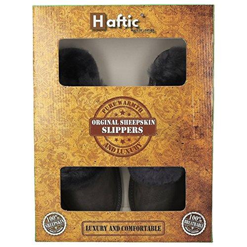 Haftic® Chaussons Gris Chaussons pour Femme pour Haftic® Gris Haftic® Femme rnORFqr6