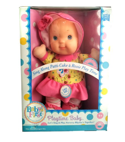 Baby's First Playtime and Lullaby- Patti-cake Pink (Babys First Music)