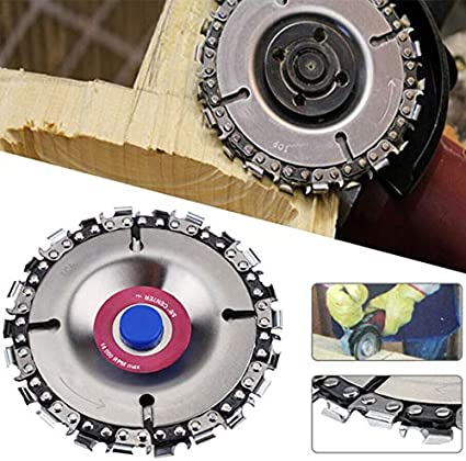 Purple 4inch 4Inch//5 Inch Angle Grinders Chain Saws Disc Chainsaw Wheel Woodworking Wood Grinding Carving Cutting Tools