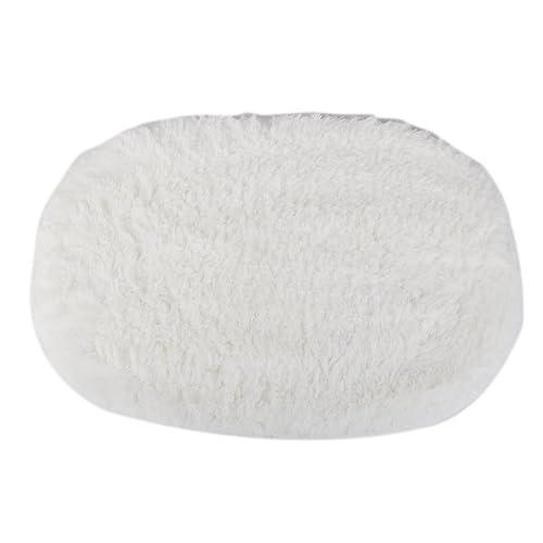 White Fluffy Rug: Amazon.co.uk