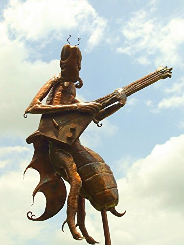 And the Wind Laughed at the Sound--Copper Weathervane