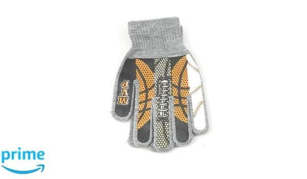 MVP Sports Boys Printed Knit Magic Gloves 2 pack Baseball Football Basketball