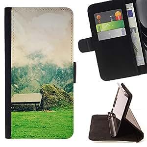 Momo Phone Case / Flip Funda de Cuero Case Cover - Naturaleza Hermosa Forrest Verde 58 - Sony Xperia Z2 D6502