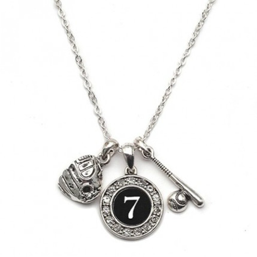 Custom Player Jersey ID Baseball/Softball Necklace