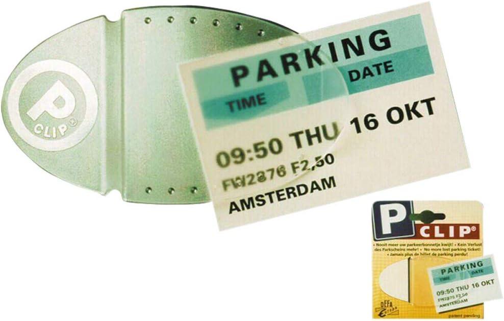 Olathe Support pour ticket de stationnement//note avec ventouse et jeton de chariot Noir//blanc