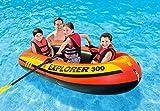 Intex Explorer 300, 3-Person Inflatable Boat Set