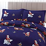 Oliven 3 Pieces Navy Blue Christmas Bedding Quilts
