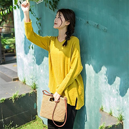 flower205Handbags Crossbody Bags of Crochet Straw Shoulder Handbags Clips Popular Fashion Bag Worn Fabric Beach Handbags Festive Let The Summer Blogger This Year Beige Light coffee