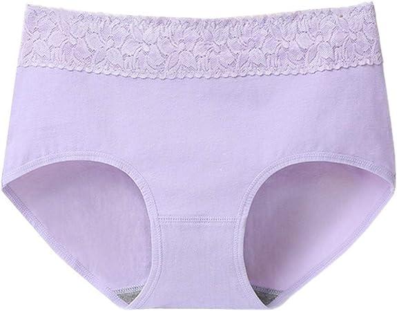 wersdf Braguitas Mujer Bragas Mujer Algodon Pack Braguita Hipster Stretch Cobertura Pantalones Pantalones de la Ropa Interior de Las Mujeres Purple,XL: Amazon.es: Hogar