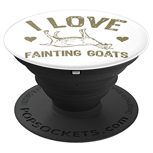 I Love Fainting Goats PopSockets Grip and Stand for Phones and Tablets